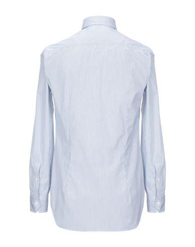 Фото 2 - Pубашка от SALVATORE PICCOLO небесно-голубого цвета