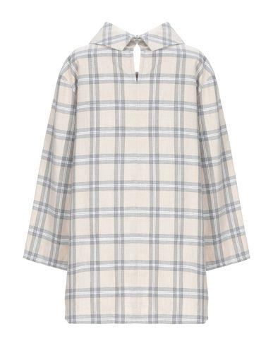 Фото 2 - Женскую блузку XACUS бежевого цвета