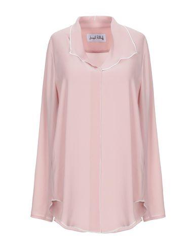 Фото - Женскую блузку JOSEPH RIBKOFF светло-розового цвета