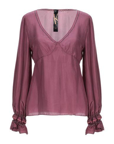 Фото - Женскую блузку KRISTINA TI розовато-лилового цвета