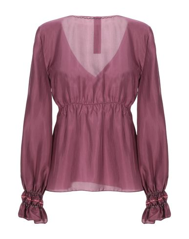 Фото 2 - Женскую блузку KRISTINA TI розовато-лилового цвета