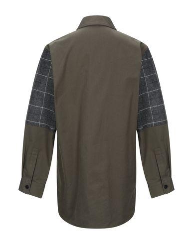 Фото 2 - Pубашка от McQ Alexander McQueen цвет зеленый-милитари