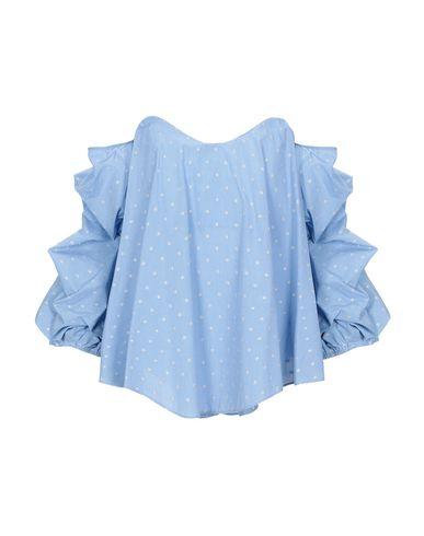 Фото - Женскую блузку  лазурного цвета