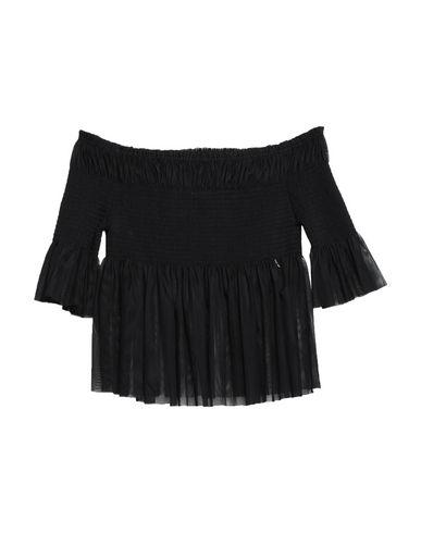 Фото - Женскую блузку  черного цвета