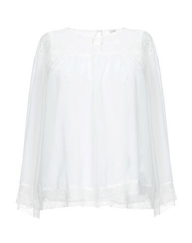 Фото - Женскую блузку GOLD CASE белого цвета