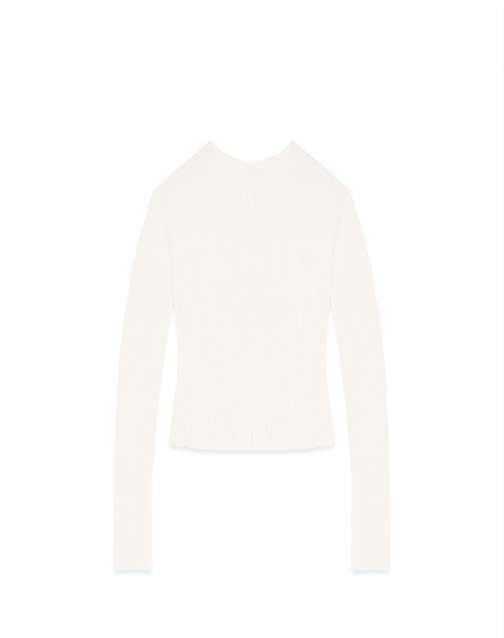 HENLEY SHIRT IN CASHMERE AND SILK - Lanvin