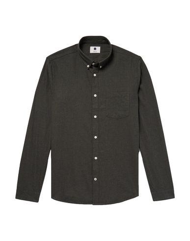 Фото - Pубашка от NN07 цвет стальной серый