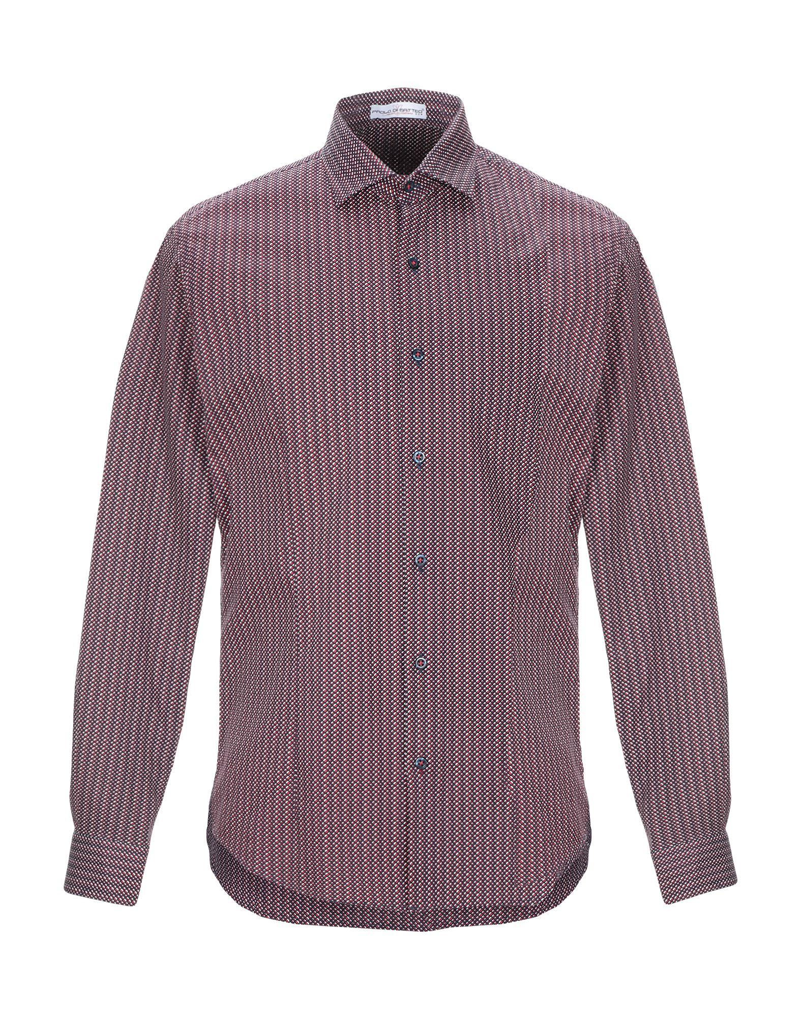 PAOLO DI MATTEO Pубашка mario matteo пиджак