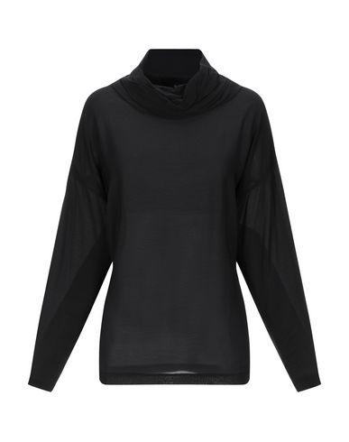 Фото - Женскую блузку EUROPEAN CULTURE черного цвета