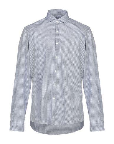 Фото - Pубашка от G.V. CONTE темно-синего цвета