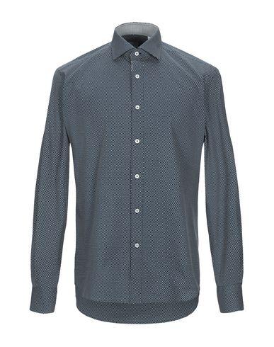 Фото - Pубашка от XACUS темно-синего цвета
