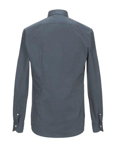 Фото 2 - Pубашка от XACUS темно-синего цвета