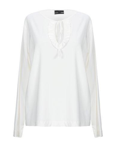 Фото - Женскую блузку EUROPEAN CULTURE цвет слоновая кость