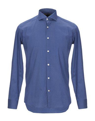 Фото - Pубашка от DOMENICO TAGLIENTE синего цвета