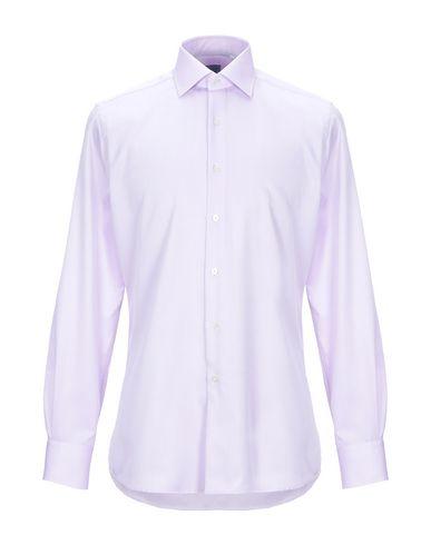 Фото - Pубашка от XACUS сиреневого цвета