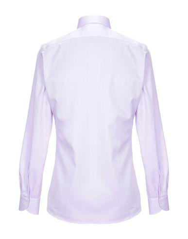 Фото 2 - Pубашка от XACUS сиреневого цвета