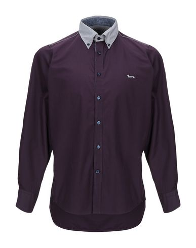 Фото - Pубашка темно-фиолетового цвета