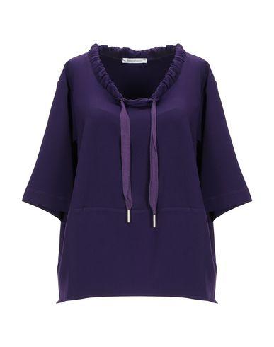 Фото - Женскую блузку BIANCOGHIACCIO фиолетового цвета