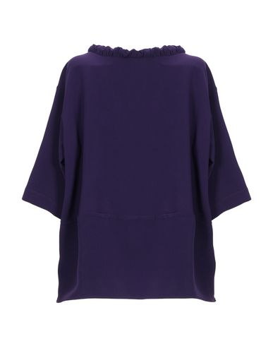 Фото 2 - Женскую блузку BIANCOGHIACCIO фиолетового цвета