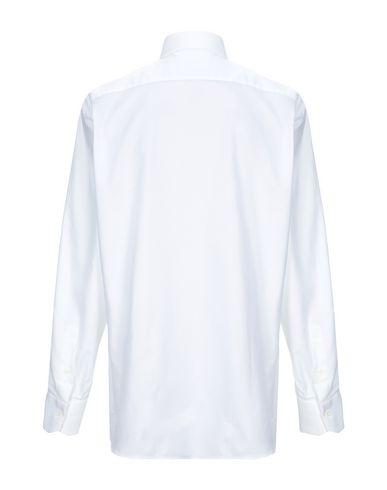 Фото 2 - Pубашка от GIAMPAOLO белого цвета