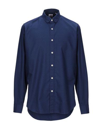 Фото - Pубашка от MOSCA синего цвета