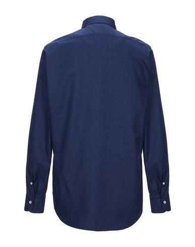 Фото 2 - Pубашка от MOSCA синего цвета