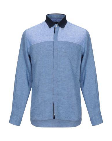Фото - Pубашка пастельно-синего цвета