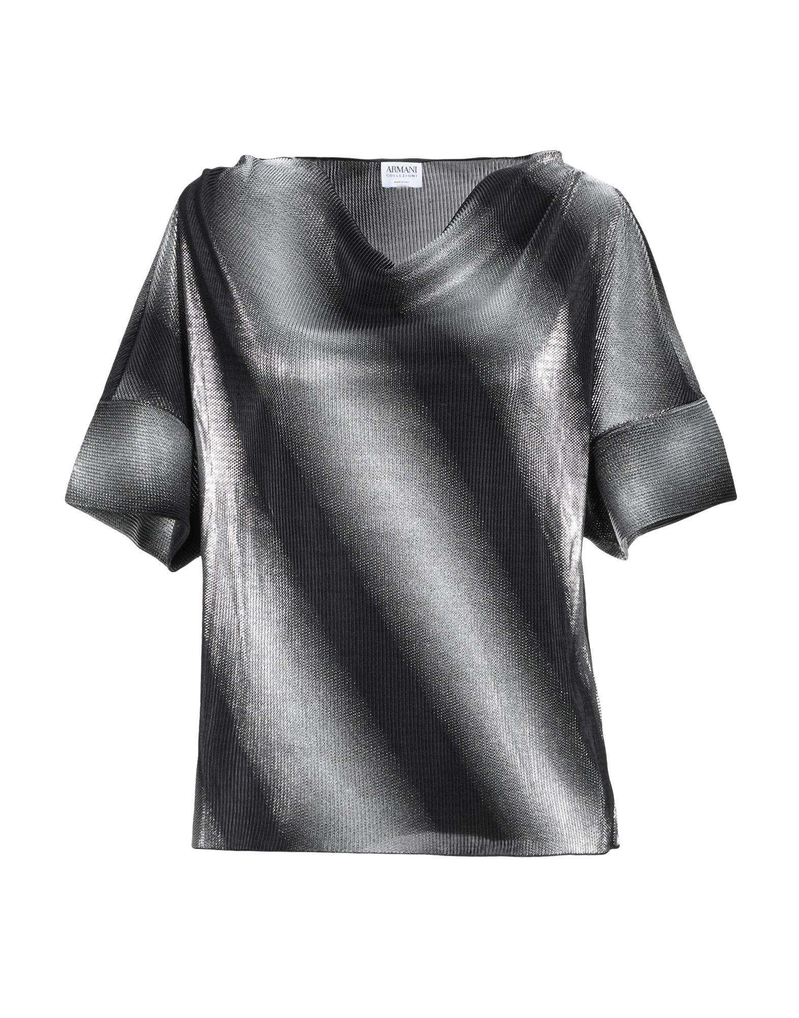 Фото - ARMANI COLLEZIONI Футболка футболка женская armani collezioni цвет черный mmm16j mmzkj 999 размер 42 44