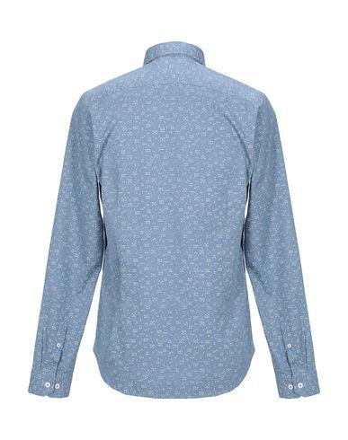 Фото 2 - Pубашка от GARCIA JEANS пастельно-синего цвета