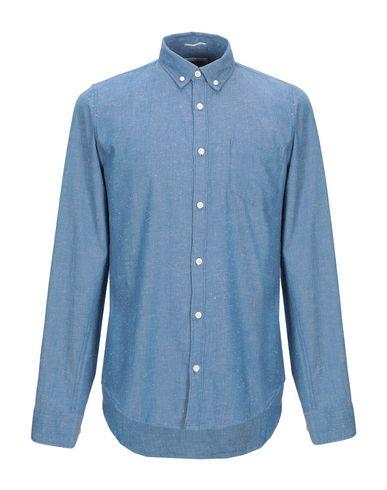 Фото - Pубашка от GARCIA JEANS пастельно-синего цвета