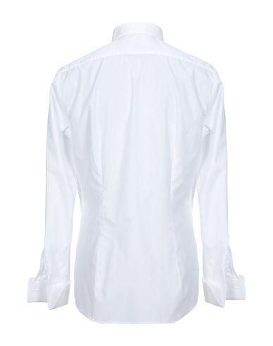 Фото 2 - Pубашка от XACUS белого цвета