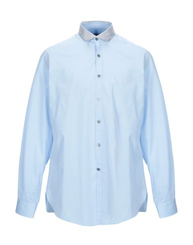 Фото - Pубашка небесно-голубого цвета