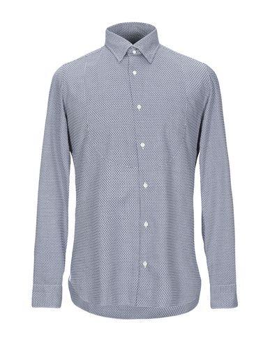Фото - Pубашка от GIAMPAOLO темно-синего цвета