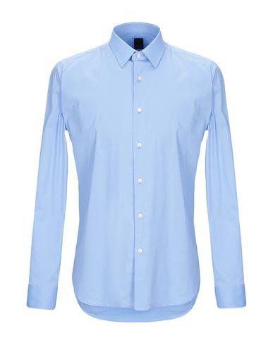 Фото - Pубашка от TIBER лазурного цвета