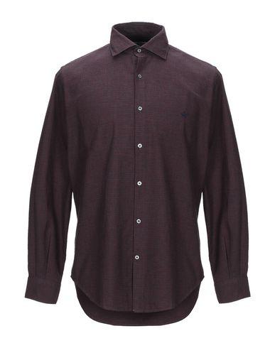 Фото - Pубашка от BROOKSFIELD красно-коричневого цвета