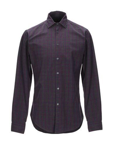 Купить Pубашка от BRIAN DALES свинцово-серого цвета