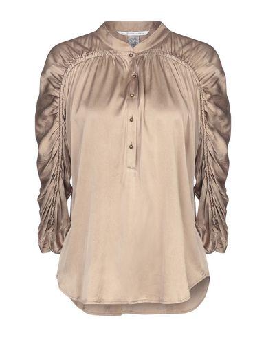 Купить Женскую блузку  цвета хаки