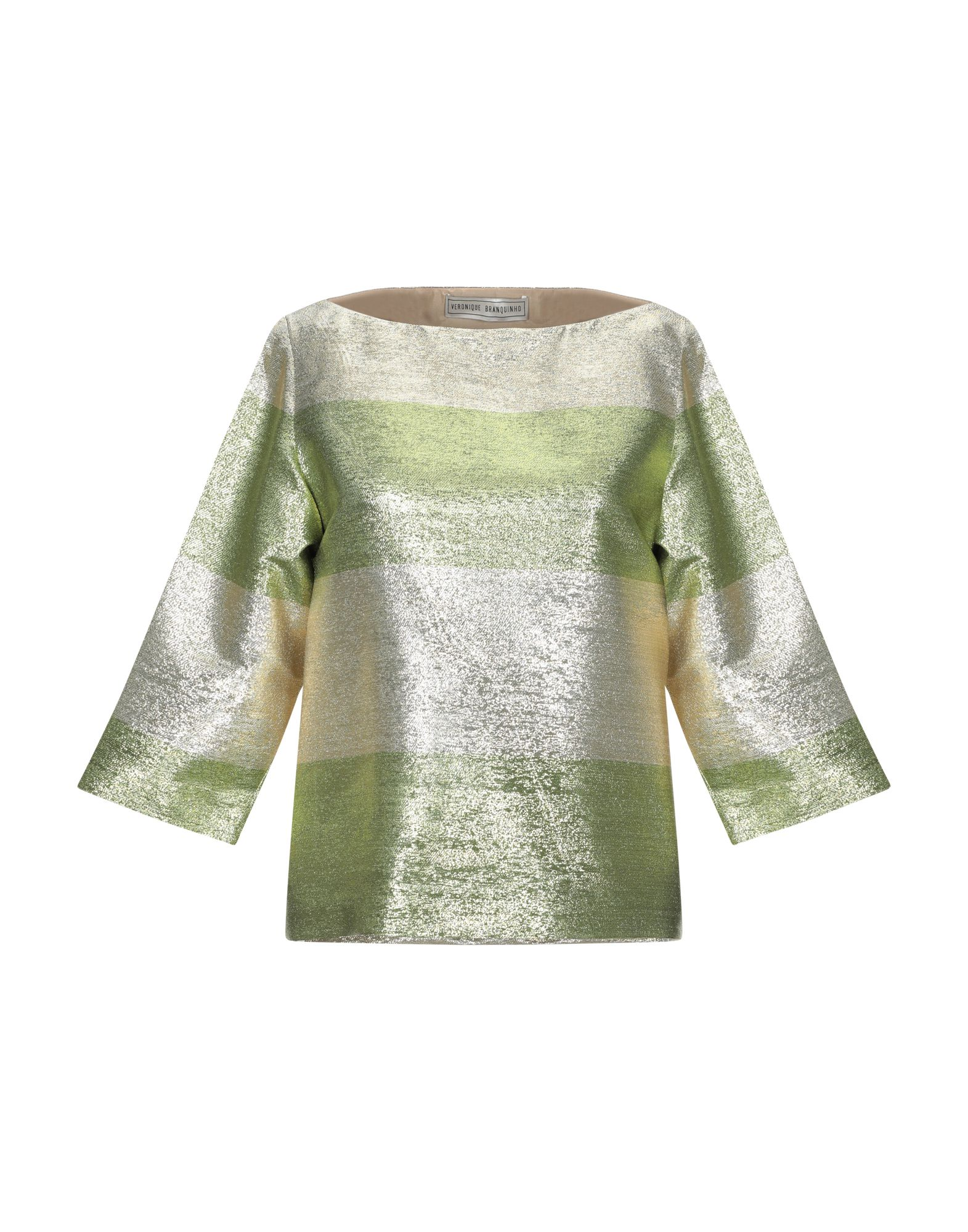 VERONIQUE BRANQUINHO Блузка veronique branquinho юбка длиной 3 4