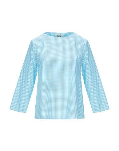 Фото - Женскую блузку NIŪ бирюзового цвета