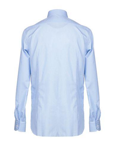 Фото 2 - Pубашка от BURINI лазурного цвета