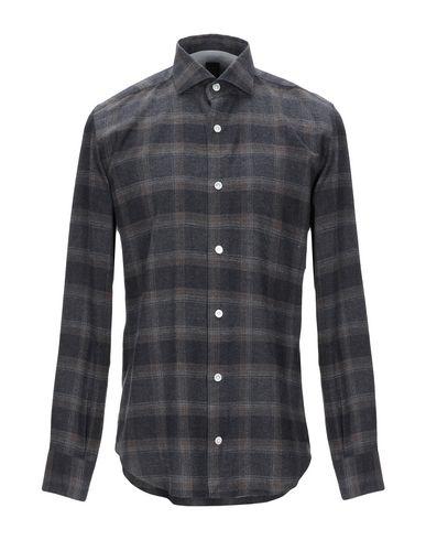 Фото - Pубашка от ELEVENTY свинцово-серого цвета
