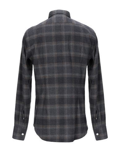 Фото 2 - Pубашка от ELEVENTY свинцово-серого цвета