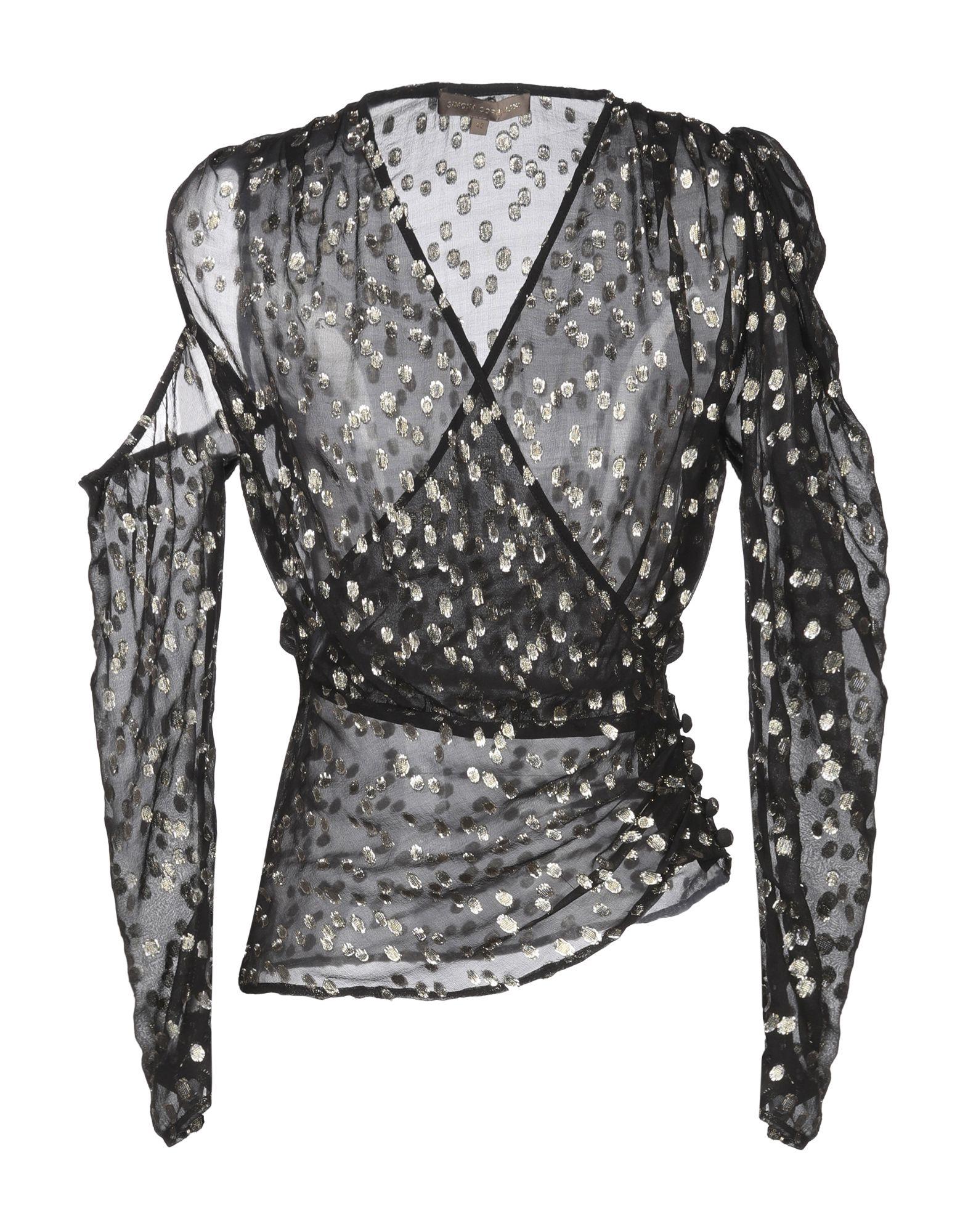 SIMONA CORSELLINI Блузка цена и фото