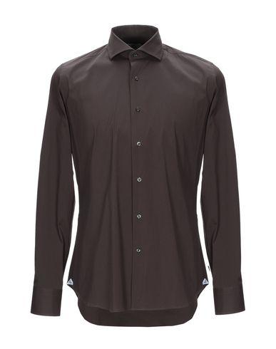 Фото - Pубашка от ALEA темно-коричневого цвета