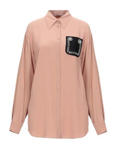 Фото - Pубашка цвет верблюжий