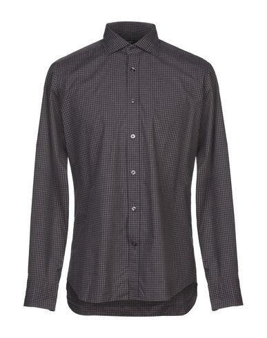 Фото - Pубашка от DANDI темно-коричневого цвета
