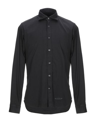 Фото - Pубашка от TINTORIA MATTEI 954 черного цвета