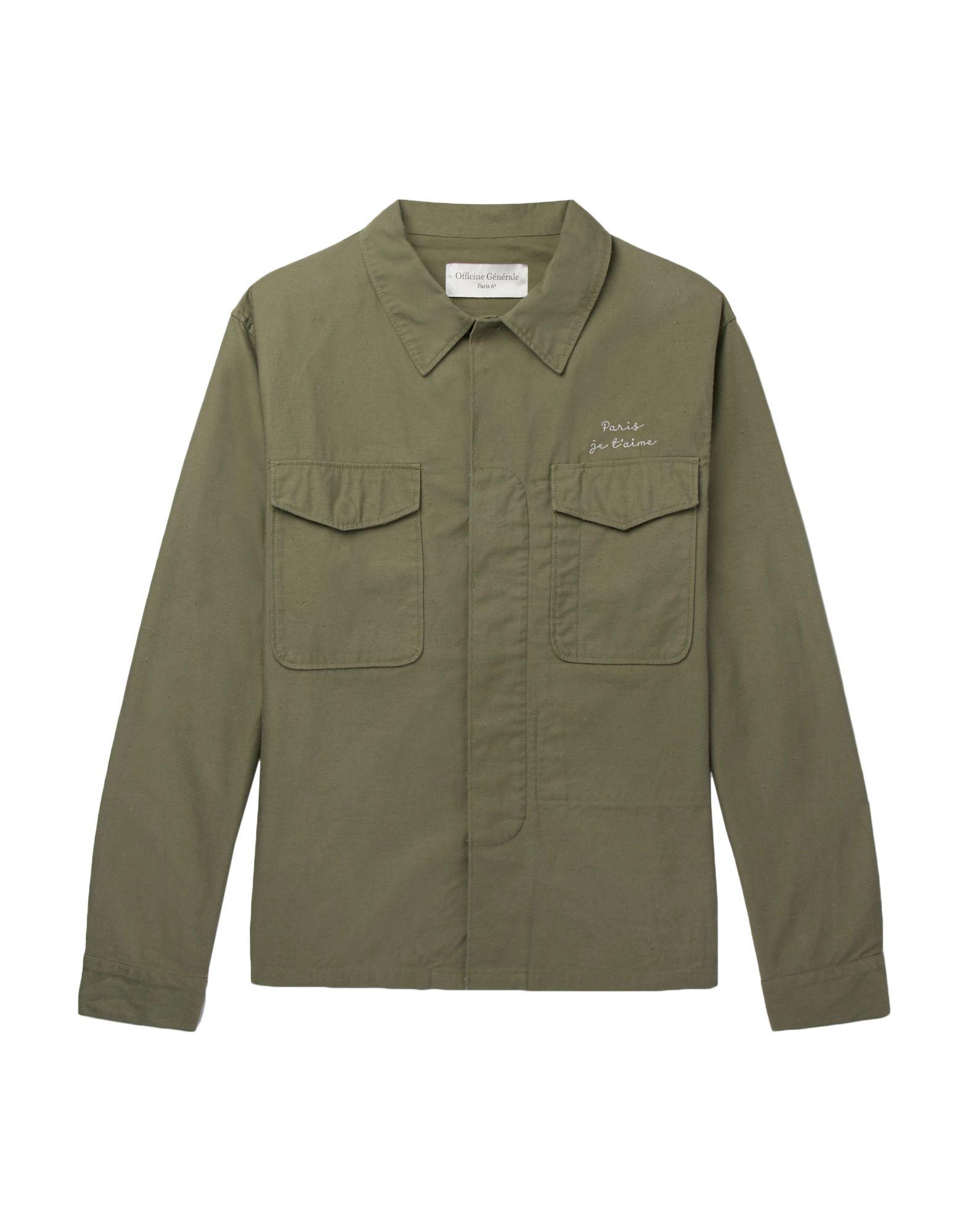 купить OFFICINE GÉNÉRALE Paris 6ᵉ Куртка по цене 9200 рублей