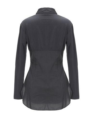 Фото 2 - Pубашка от EUROPEAN CULTURE цвет стальной серый