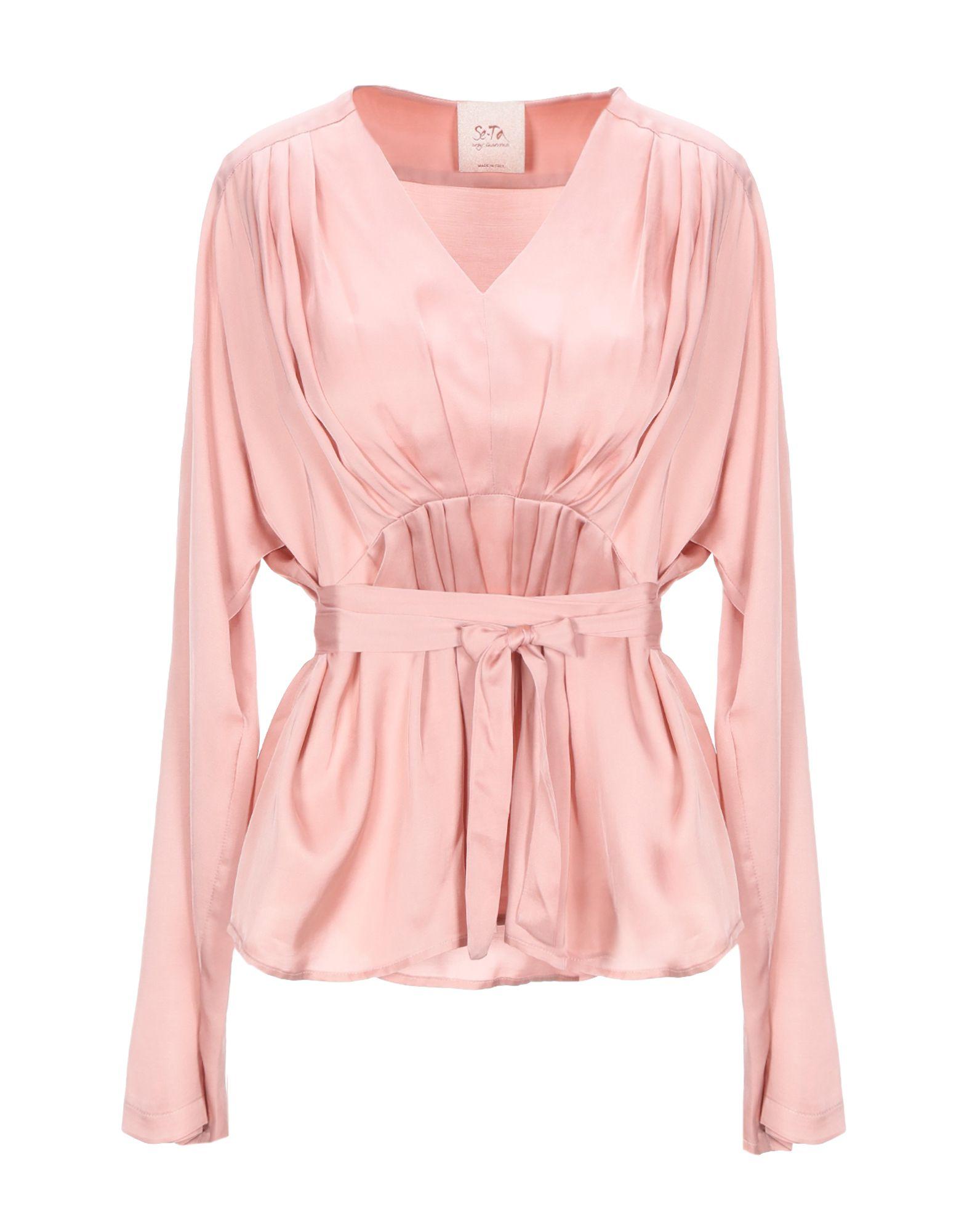 SE-TA Rosy Iacovone Блузка se ta rosy iacovone pубашка